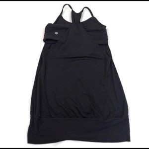 Lululemon No limits women's solid black Razorback